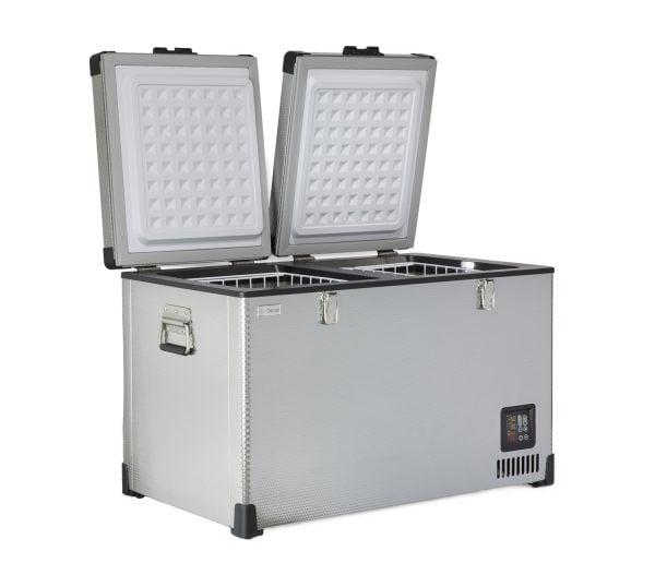 portable chest cooler, portable chest refrigerator, portable fridge freezer, portable chiller,