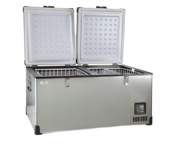 portable chest cooler, portable chest refrigerator, portable fridge freezer, portable chiller, SD-90,SCD-90