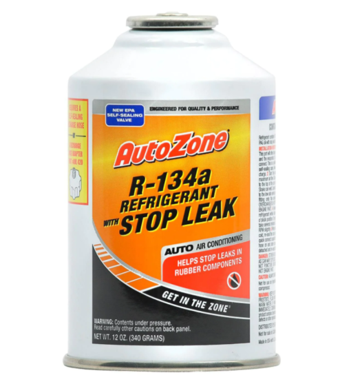 R134a with stop leak